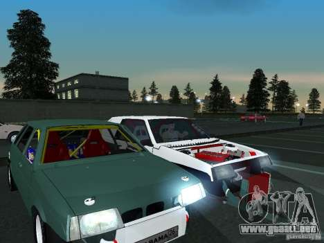 Arrastre VAZ 2109 para visión interna GTA San Andreas
