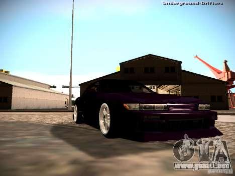 Nissan Silvia S13 Tandem Of DIE para la visión correcta GTA San Andreas