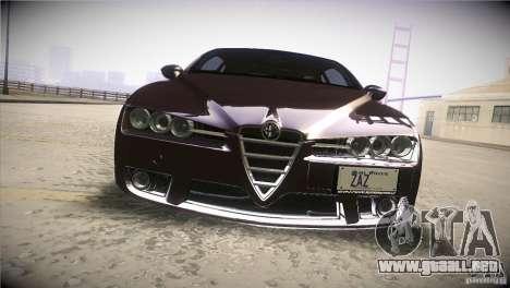 Alfa Romeo Brera Ti para la vista superior GTA San Andreas