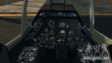 Bell AH-1 Cobra para GTA 4 vista hacia atrás