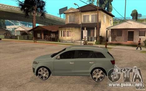 Audi Q7 V12 TDI 2011 para GTA San Andreas left