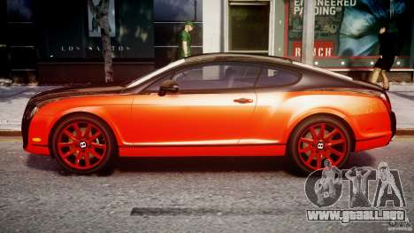 Bentley Continental SS 2010 Le Mansory [EPM] para GTA 4 left