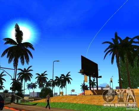 Hermoso entorno ENBSeries para GTA San Andreas quinta pantalla