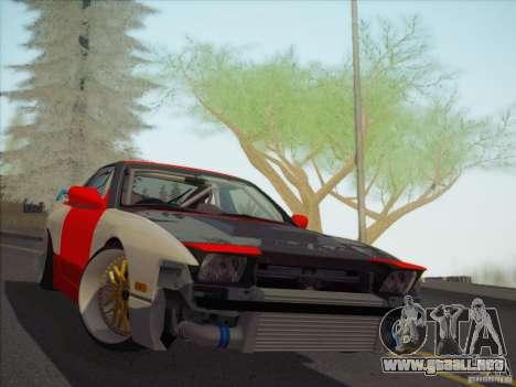 Nissan RPS13 Drift Korch para GTA San Andreas vista hacia atrás