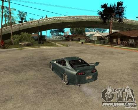 Toyota Supra Veilside para GTA San Andreas left
