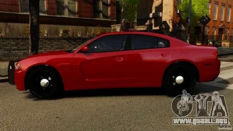 Dodge Charger RT Max FBI 2011 [ELS] para GTA 4 left