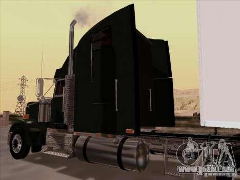 Freightliner FLD 120 Classic XL para GTA San Andreas vista hacia atrás