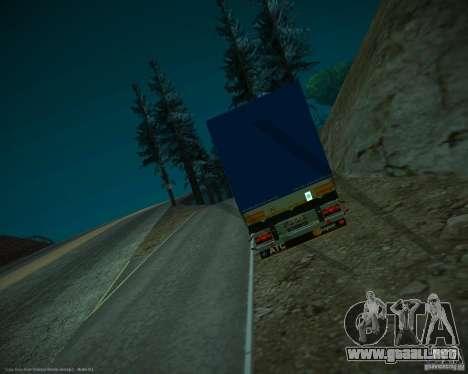 Schmitz Bort Tent para la visión correcta GTA San Andreas