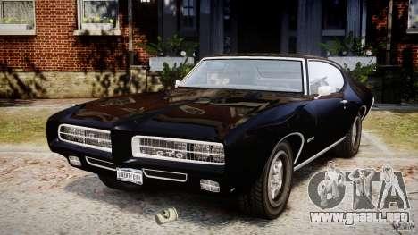 Pontiac GTO Judge para GTA 4