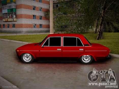 VAZ 2106 Pyatigorsk para la visión correcta GTA San Andreas