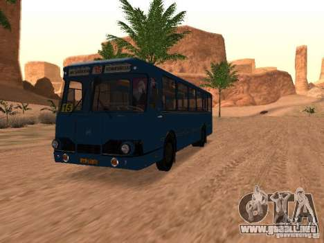 677 LIAZ para el motor de GTA San Andreas