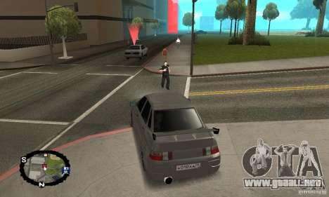 Carreras callejeras para GTA San Andreas sexta pantalla