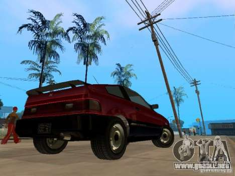 Blista From GTA IV para la visión correcta GTA San Andreas