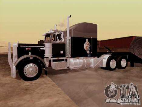 Peterbilt 378 Custom para visión interna GTA San Andreas