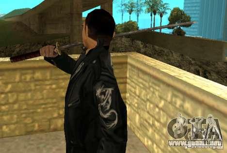 Reemplazo de pieles Yakuza para GTA San Andreas tercera pantalla