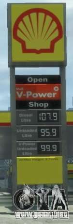Shell Petrol Station V2 Updated para GTA 4 quinta pantalla