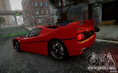 Ferrari F50 1995 para GTA 4 vista interior