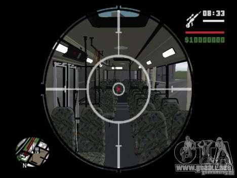 Ikarus 415.02 para la vista superior GTA San Andreas