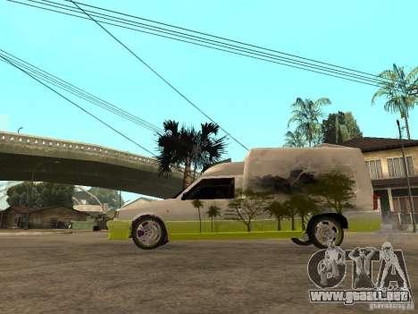 Fiat Fiorino para GTA San Andreas left