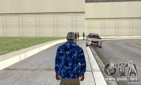 Hoody skin para GTA San Andreas segunda pantalla