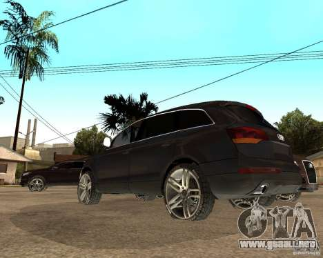 Audi Q7 4.2 FSI para GTA San Andreas