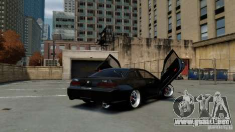 Honda Prelude SiR VERTICAL Lambo Door Kit Carbon para GTA 4 left
