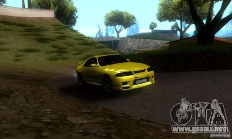 Nissan Skyline GT-R R-33 v2.0 para GTA San Andreas