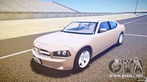 Dodge Charger RT Hemi 2007 Wh 1 para GTA 4