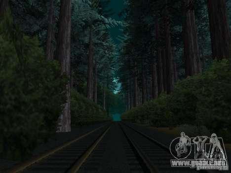 Bosque en Las Venturas para GTA San Andreas sucesivamente de pantalla