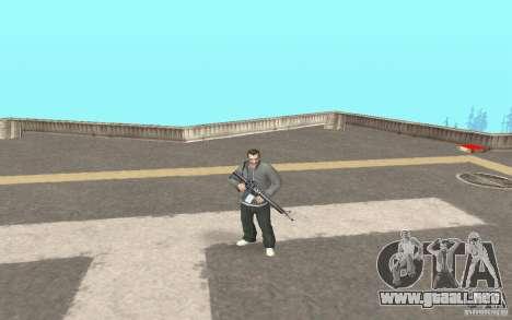 Animación del GTA IV para GTA San Andreas segunda pantalla