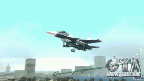 Vice City Air Force para GTA Vice City vista lateral izquierdo