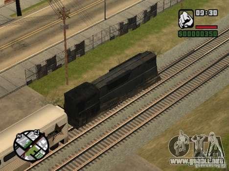 Combinar tren del juego Half-Life 2 para GTA San Andreas vista hacia atrás