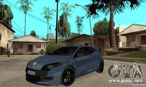 Renault Megane 3 Sport RS 2010 para GTA San Andreas