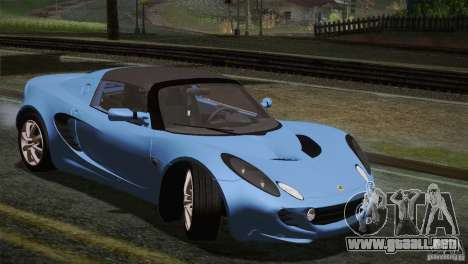Lotus Elise 111s 2005 v1.0 para vista inferior GTA San Andreas