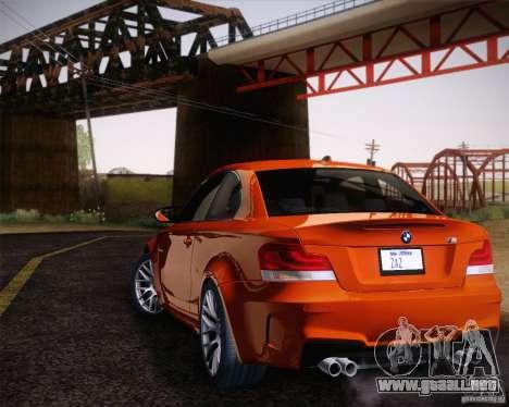 BMW 1M v2 para GTA San Andreas left