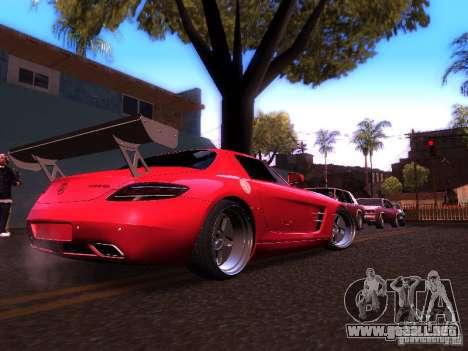 Mercedes-Benz SLS AMG para la visión correcta GTA San Andreas