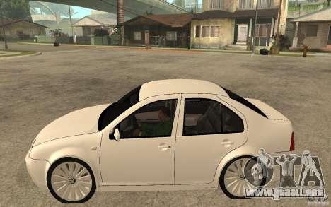 Volkswagen Bora PepeUz Edition para GTA San Andreas left