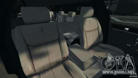 Lincoln Town Car Limousine 2006 para GTA 4 vista hacia atrás