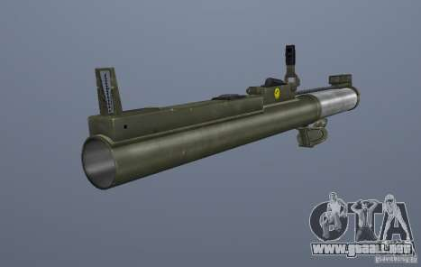 Grims weapon pack3 para GTA San Andreas sexta pantalla