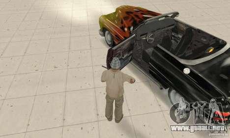 Flat Out Style para GTA San Andreas vista hacia atrás