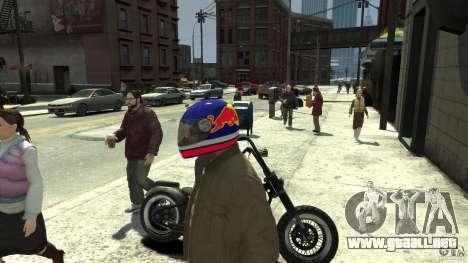 Energy Drink Helmets para GTA 4 séptima pantalla
