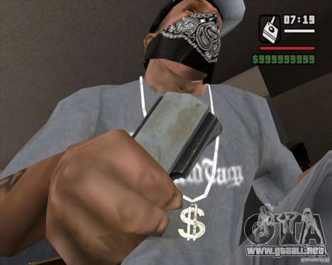 Detector de l. a. t. s. k. e. R # 3 para GTA San Andreas tercera pantalla