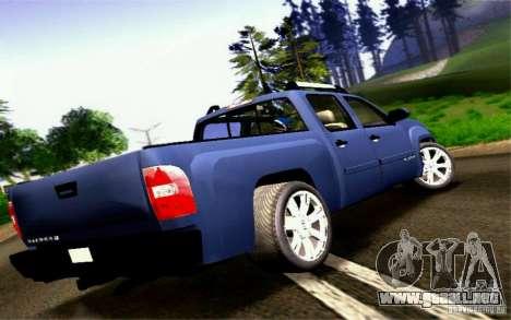 GMC Sierra 2011 para GTA San Andreas left