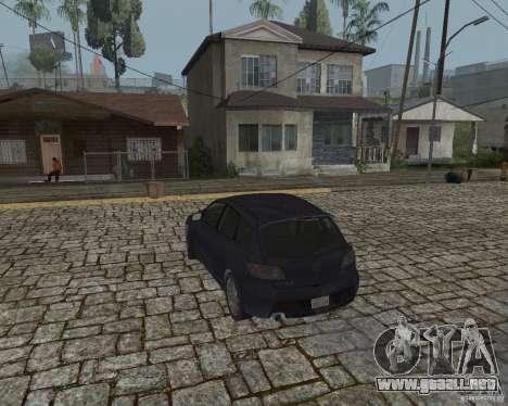 Mazda Speed 3 para GTA San Andreas left