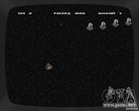 La oportunidad de jugar en un equipo portátil para GTA San Andreas sucesivamente de pantalla