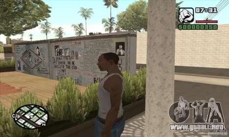 Pared Tsoi para GTA San Andreas segunda pantalla