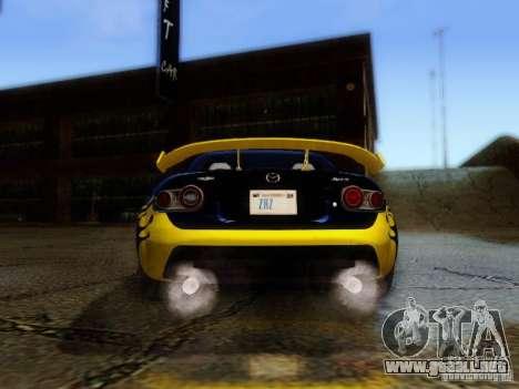 Mazda MX-5 2007 para visión interna GTA San Andreas