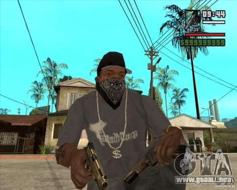 Millenias Weapon Pack para GTA San Andreas segunda pantalla