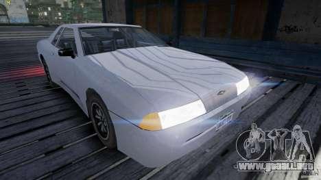 Elegy para GTA 4 vista hacia atrás