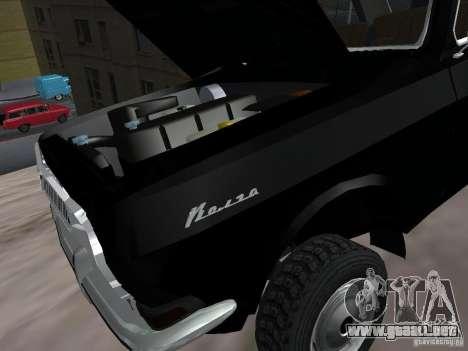 95 VOLGA GAZ-24 para visión interna GTA San Andreas